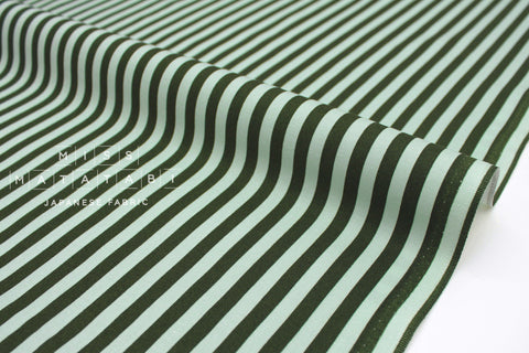 Cotton + Steel Primavera - cabana stripe mint - fat quarter