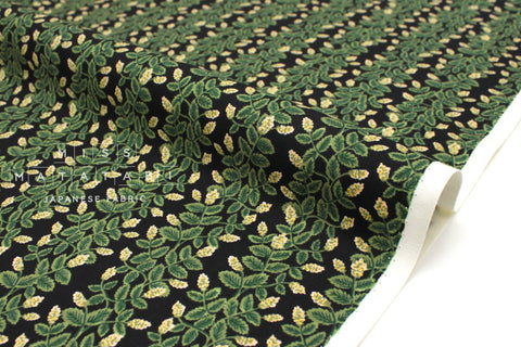 Cotton + Steel Primavera - climbing vines black - fat quarter