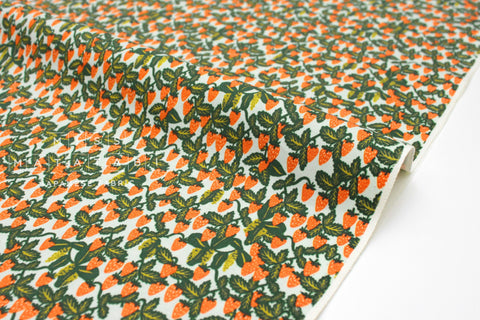 Cotton + Steel Primavera - strawberry fields mint - fat quarter