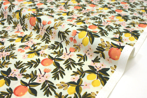 Cotton + Steel Primavera - citrus floral mint - 50cm