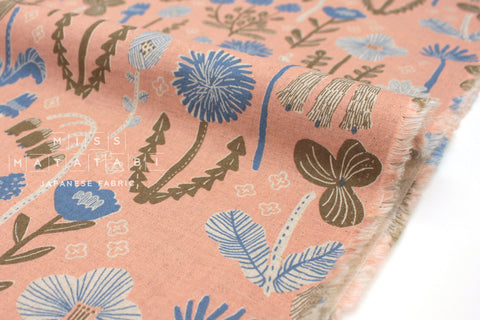 Japanese Fabric Wildflower - peach - 50cm