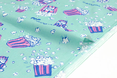 Japanese Fabric Popcorn - mint - 50cm