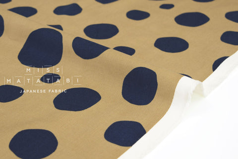 Japanese Fabric Corduroy Bubbles - latte - 50cm