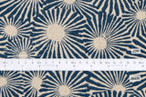 Japanese Fabric Higo Giku - blue - 50cm