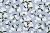 Cotton + Steel Meadow lawn - hydrangea light blue - 50cm