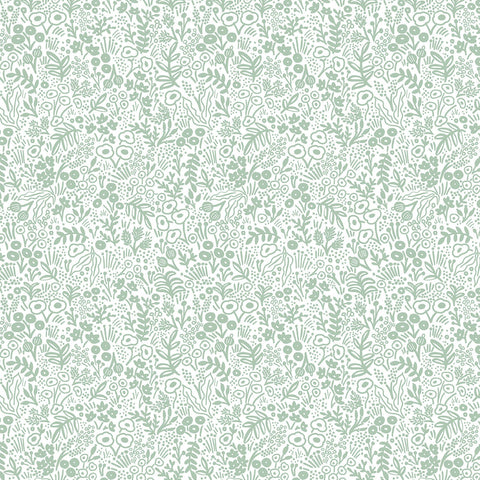 Cotton + Steel Rifle Paper Co. Basics - Tapestry Lace - sage - 50cm