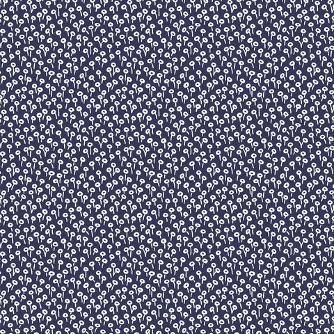 Cotton + Steel Rifle Paper Co. Basics - Tapestry Dot - navy - 50cm