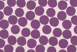 Japanese Fabric Large Dots - berry - 50cm