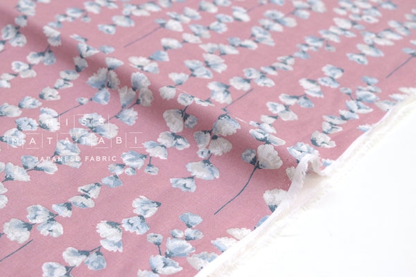 Japanese Fabric Flower Chains - pink - 50cm