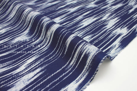 Japanese Fabric Indigo Rope - indigo blue - 50cm
