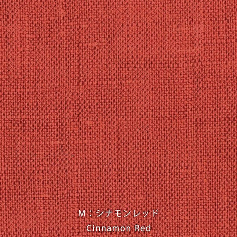 Nani Iro Kokka Naomi Ito Linen Colors Japanese Fabric - cinnamon red - 50cm