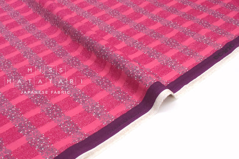 Japanese Fabric Kokka Echino Field double gauze - A - 50cm