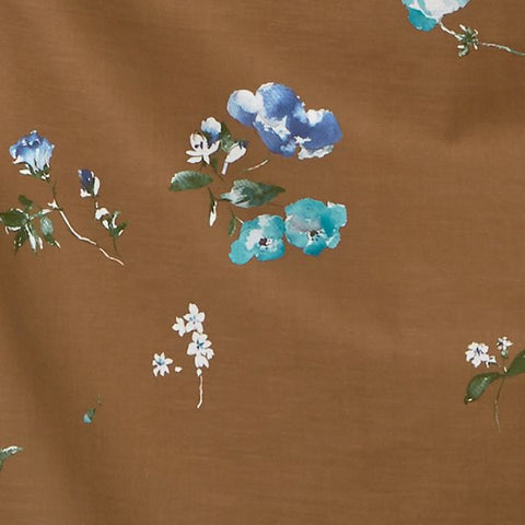 Nani Iro Kokka Japanese Fabric New Morning I Silk blend - C - 50cm