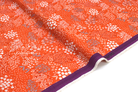 Japanese Fabric Kokka Echino Grass double gauze - B - 50cm