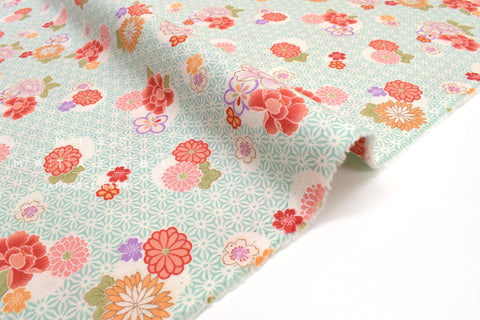 Japanese fabric Spring Blossoms - B - 50cm