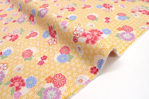 Japanese fabric Spring Blossoms - C - 50cm