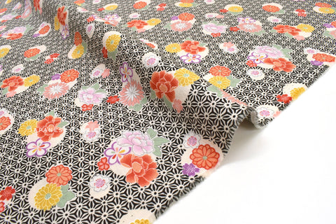Japanese fabric Spring Blossoms - E - 50cm
