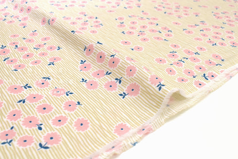 Japanese Fabric Nina Virta Double Gauze - D2 - 50cm