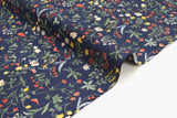 Japanese Fabric Garden - navy blue - 50cm