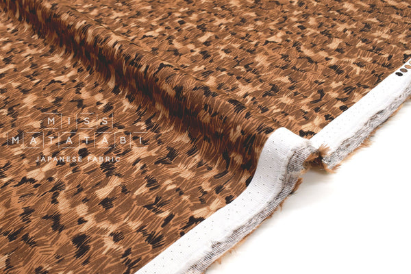 Japanese Fabric Wild Grass Rayon Sateen - C - 50cm