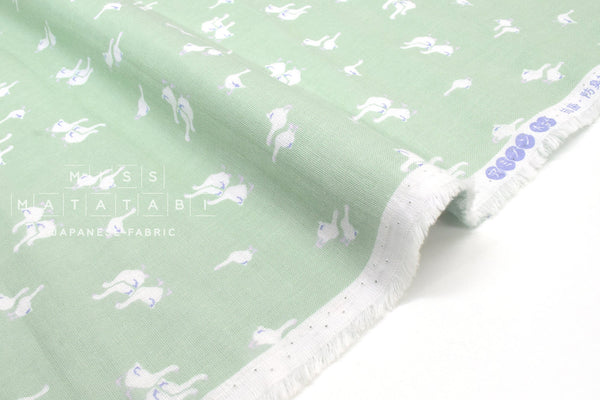 Japanese Fabric Geese Double Gauze - C - 50cm
