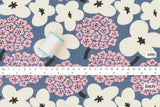 Japanese Fabric Cotton Seersucker Ripple Bouquet - D - 50cm
