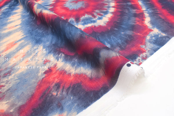 Japanese Fabric Flow Dyed Voile - A - 50cm