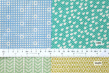Kokka Garden Ellen Luckett Baker - cheater print - pastel - fat quarter