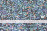 Spacer Knit - digital print floral - C