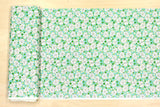 Suzuko Koseki daisy & marble - mint green  - fat quarter