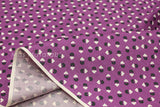 Suzuko Koseki circle and square - purple - fat quarter