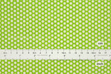 Suzuko Koseki little honeycomb - green  - fat quarter