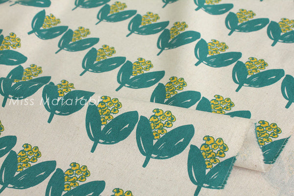 Japanese Fabric - Flower Bloom - B - fat quarter