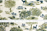 Wonder Forest - cotton lawn - A