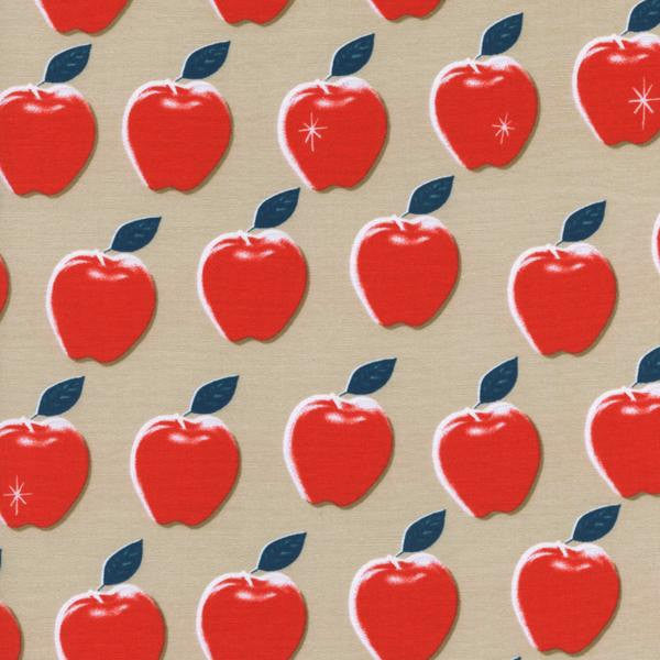 Cotton + Steel Picnic - apples red