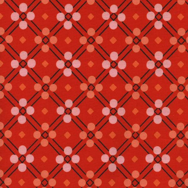 Cotton + Steel Picnic - picnic blanket red - fat quarter
