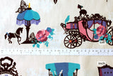 Japanese Fabric - Kayo Horaguchi - In The Castle - ow