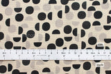 Kokka Ellen Baker - Monochrome - Shades - charcoal - fat quarter
