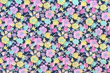 Sevenberry Summer Garden - blue - fat quarter