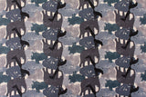 Japanese Fabric Animal stripes - D