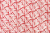 Japanese Fabric Yuwa Basket Weave - red - fat quarter
