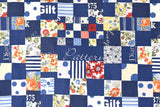 Suzuko Koseki - blue - fat quarter