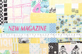 Suzuko Koseki wonderful scrap - yellow - fat quarter