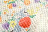 Nani Iro Fuccra : rakuen AW quilted brushed cotton - A