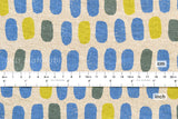 Japanese Fabric - jellybean tiles canvas - B - fat quarter