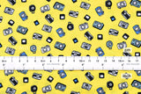 Tiny Cameras - cotton lawn - B