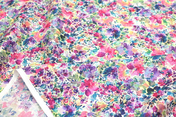 Digital Printed Floral - cotton lawn