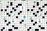 Japanese Kei Fabric Crossword - fat quarter