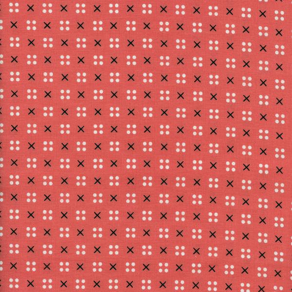 Cotton + Steel Penny Arcade - x dot pink - fat quarter