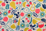 Japanese Fabric - vegetables canvas - B - fat quarter